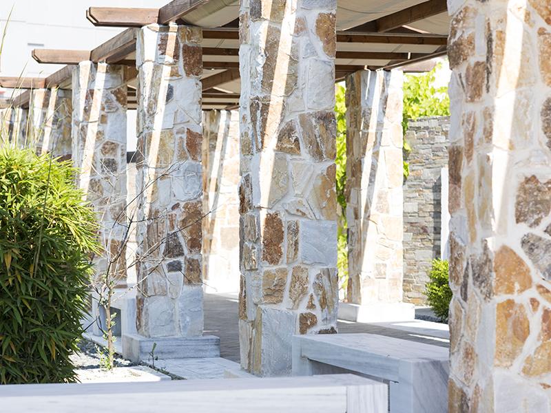 I rivestimenti in pietra naturale per esterni