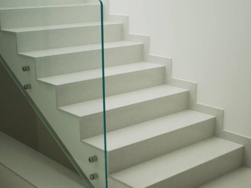 Le scale in marmo, elementi di design