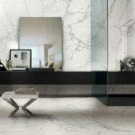 Gres porcellanato effetto marmo: caratteristiche e impieghi